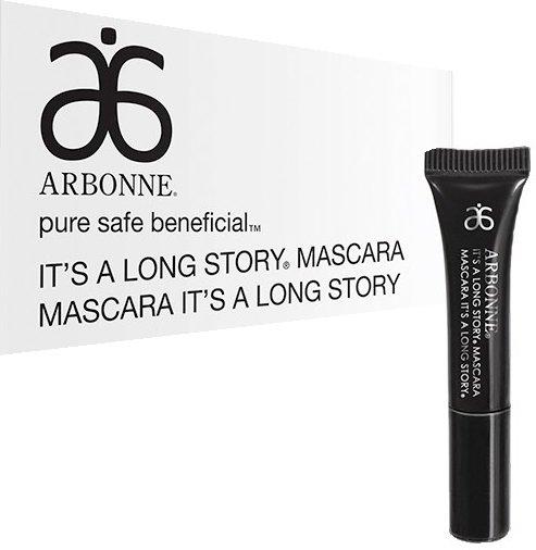 IT'S A LONG STORY by Arbonne. Vanity Fair's Top 5. High performance lengthening mascara. https://t.co/NEhO6xfQD0 https://t.co/29mNulJEgw