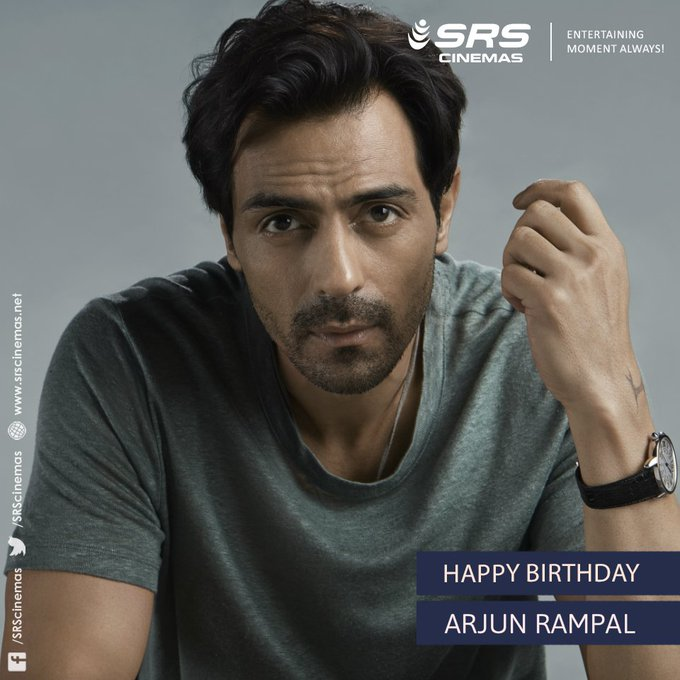 Wishing Arjun Rampal a very happy birthday!