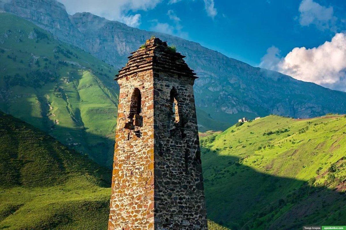 Северная Осетия-Ингушетия с выездом из Саратова