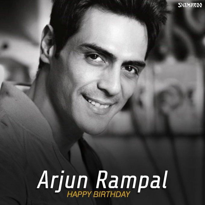 "Wishing the \"" Arjun Rampal a very happy birthday."