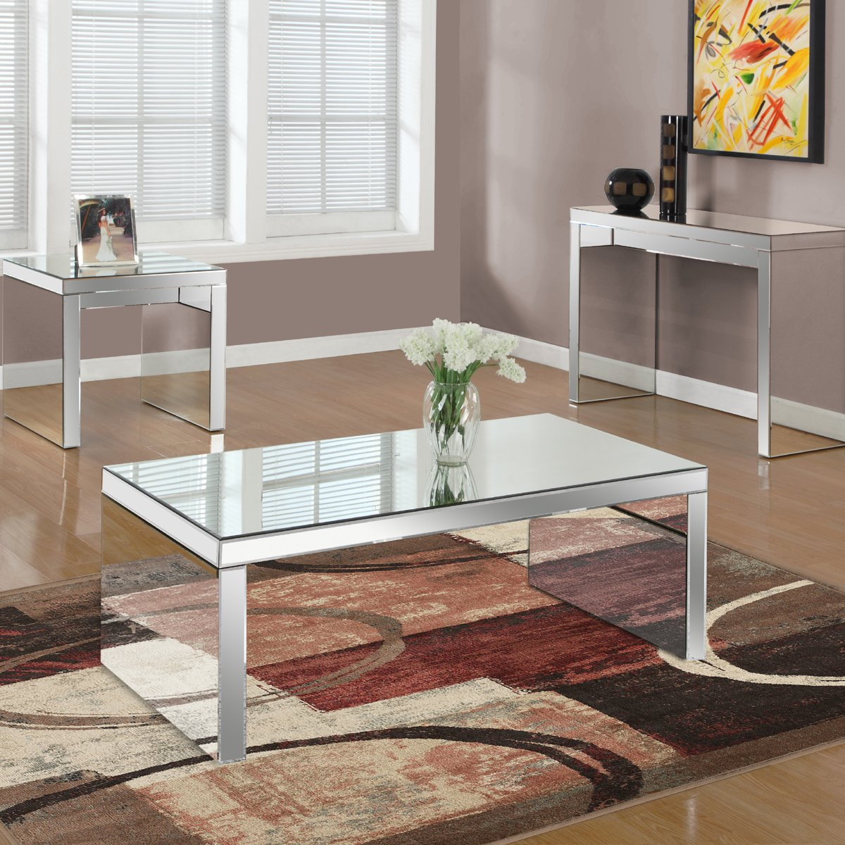 Modgsi modgsi twitter come to our store at bridgeport and grab your evelyn coffee table with mirror top to give a contemporary style to your home geotapseo Choice Image