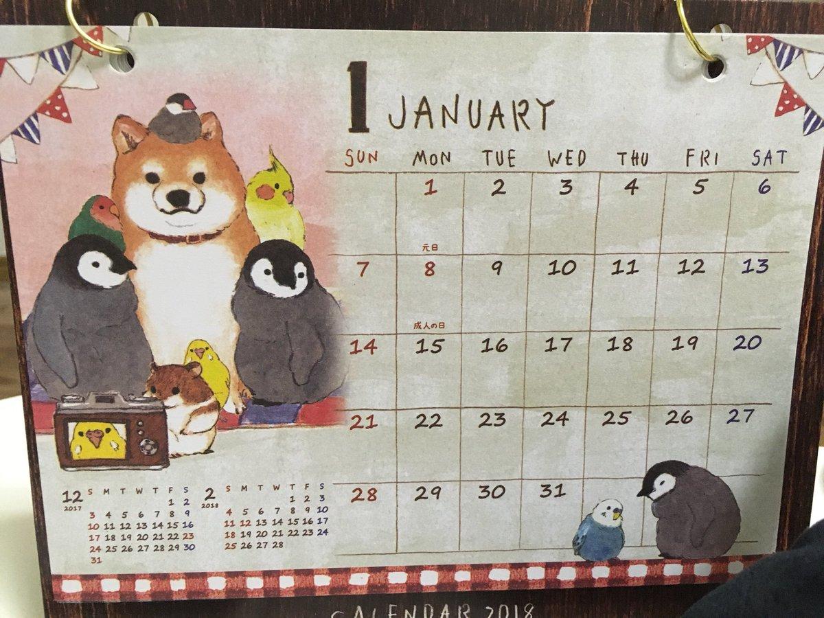 test ツイッターメディア - #セリア でめちゃカワイイ??来年の卓上カレンダー見つけて思わず購入?(*´?`*)?? 本当にほっこりするアニマルたちだわ(*´ω`*) #ほっこりアニマル #カレンダー https://t.co/eVKfy0bIUC