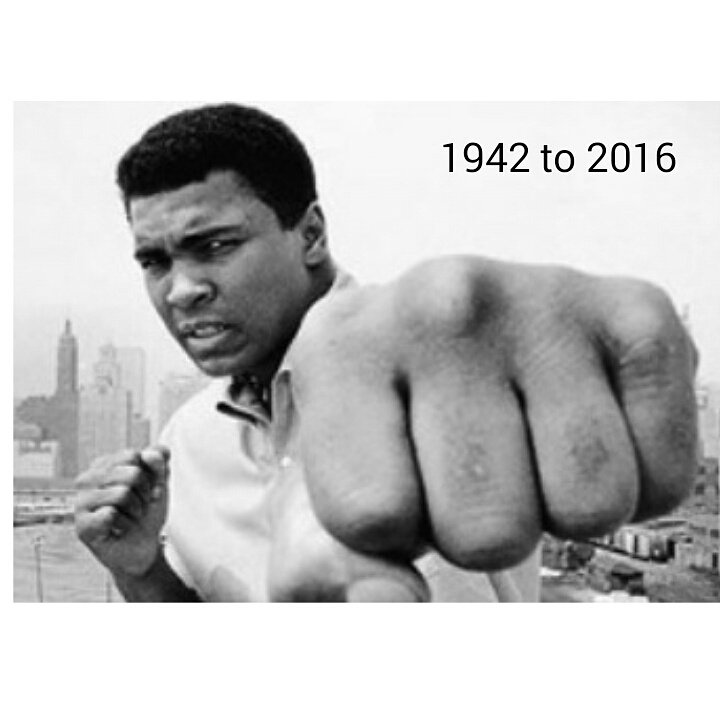 #MuhammadAli  The great one will be missed and never forgotten https://t.co/zPlczR7mYa