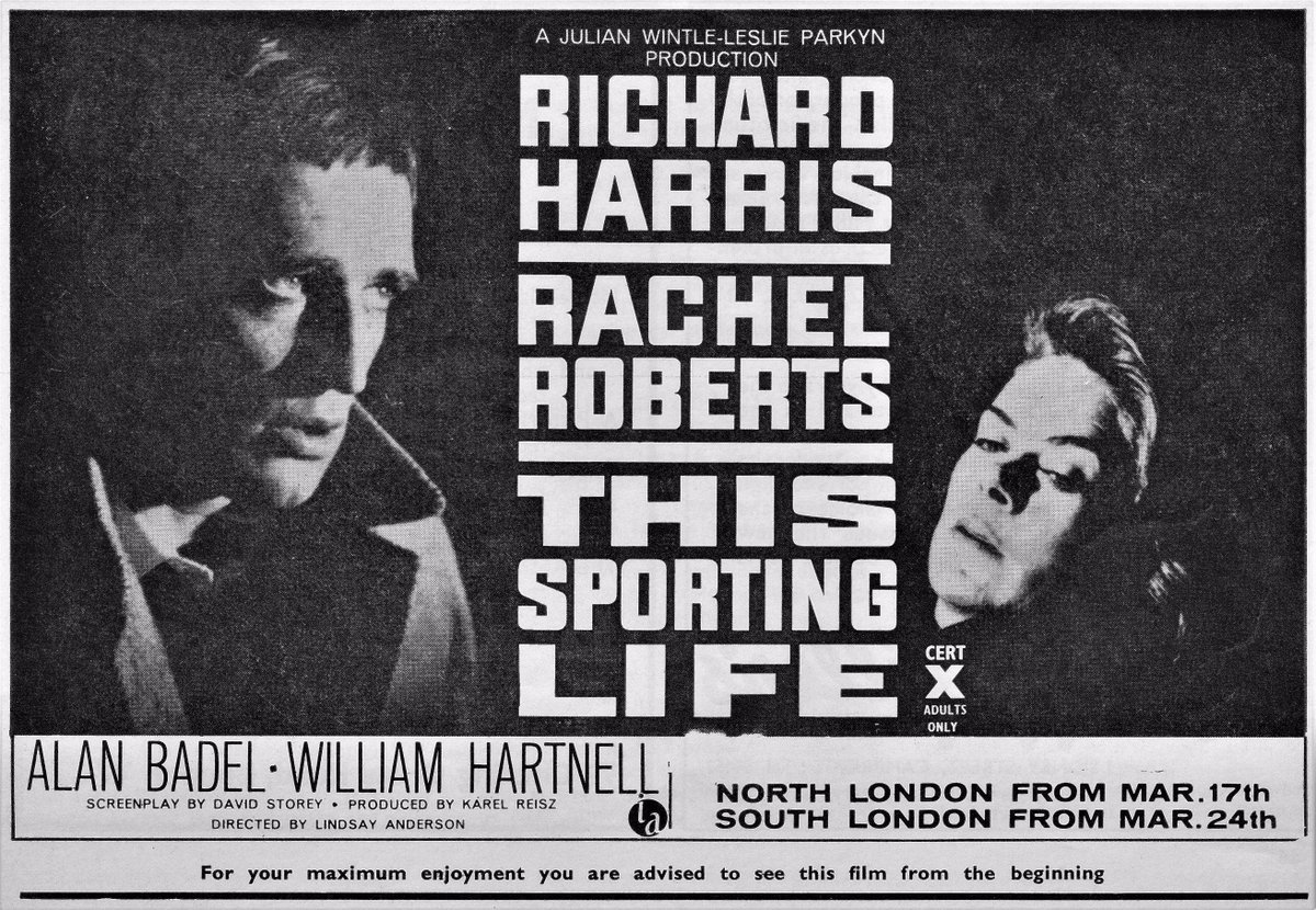 "films and filming on Twitter: ""Richard Harris & Rachel Roberts in ..."