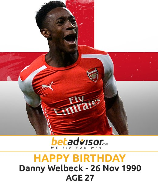 Happy Birthday to Danny Welbeck