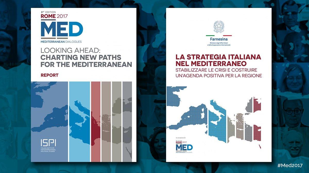 A supporto di #Med2017, le pubblicazioni di ISPI e di @ItalyMFA per la comprensione delle dinamiche politiche, economiche e di sicurezza oggi in atto nel Mediterraneo. Scarica i volumi → https://t.co/RUXdXzJdgR
