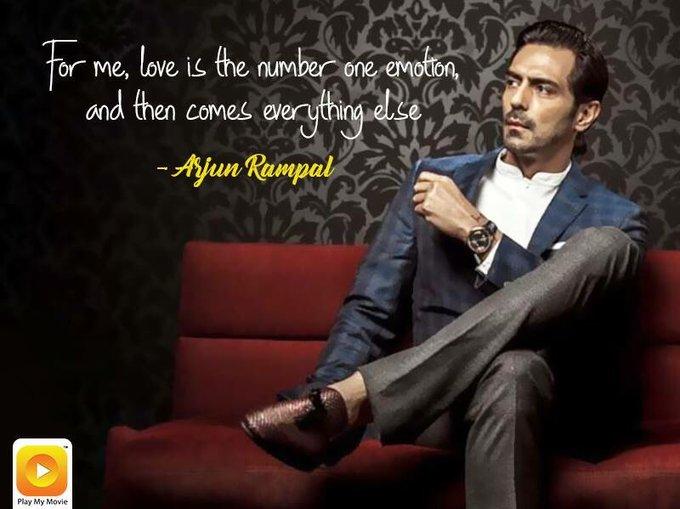 A very Happy Birthday to the National Award winner Arjun Rampal