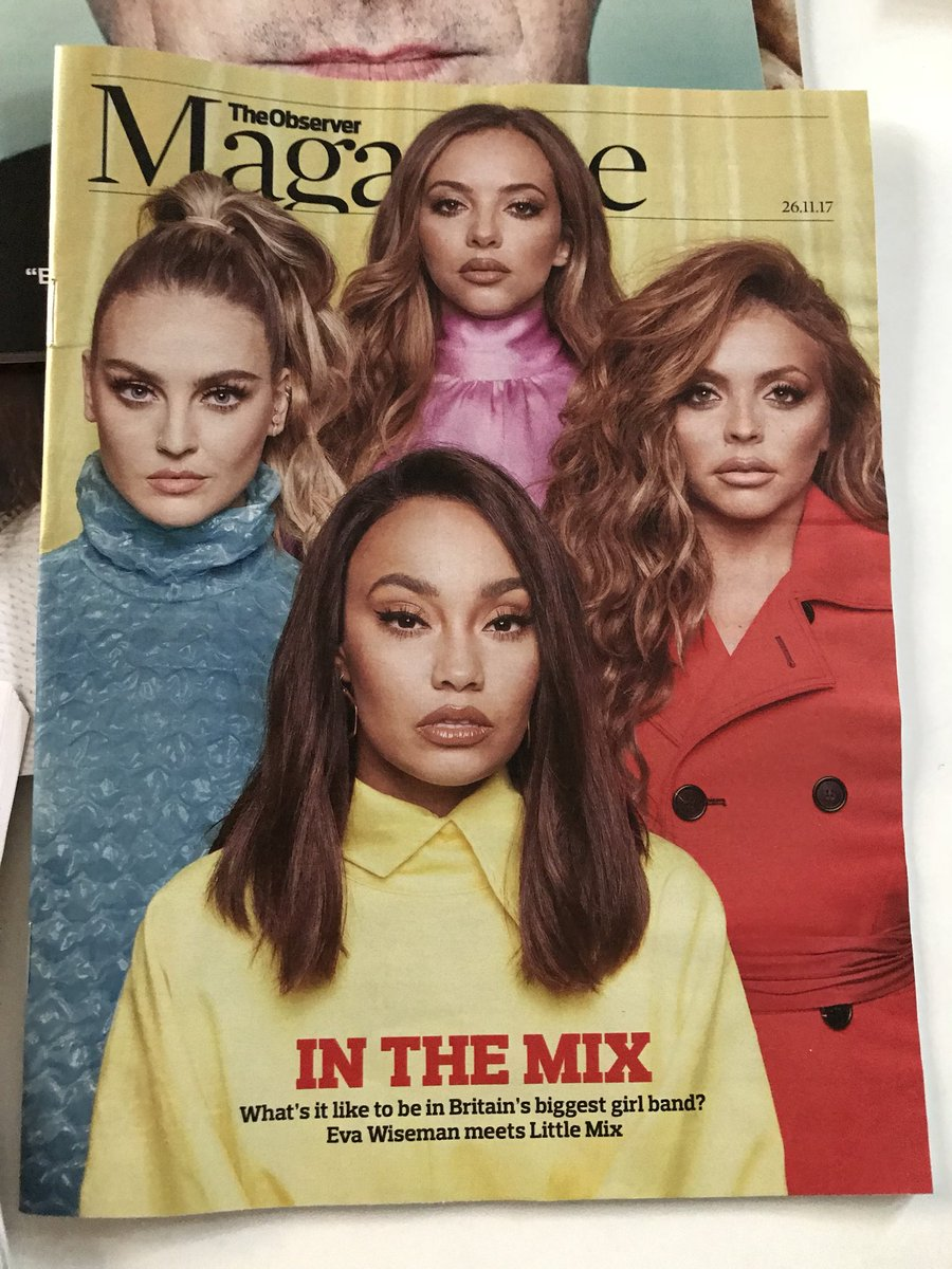Nothing but respect for my #JusticeLeague @LittleMix