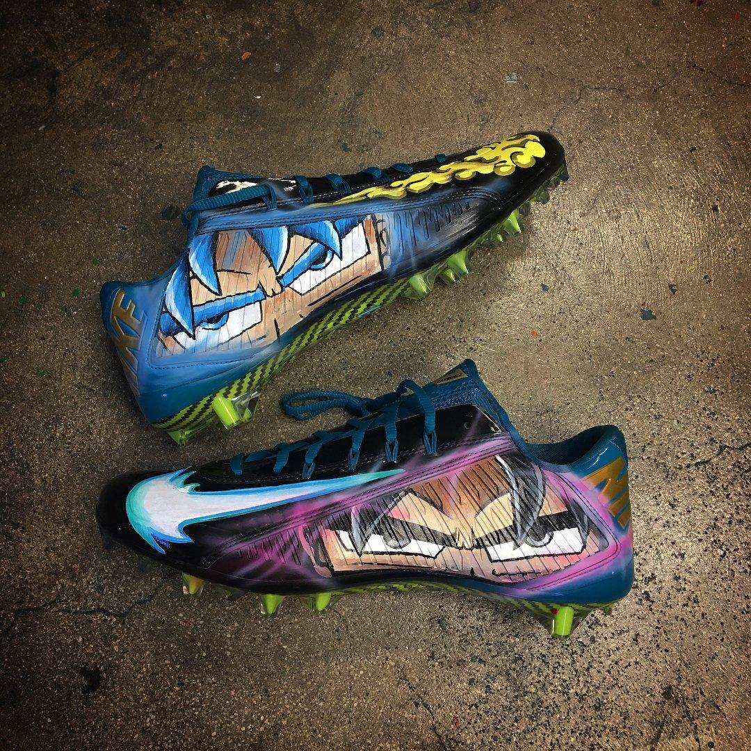 'Ultra Instinct' Nike Vapor Carbon Elite cleats for @AJBOUYE21 by @K_obrand.
