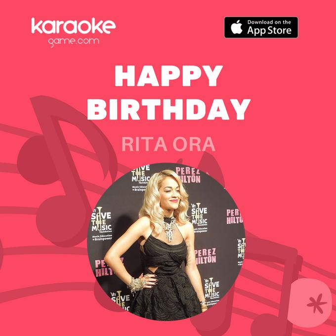 Happy Birthday  Karaoke night can begin now: