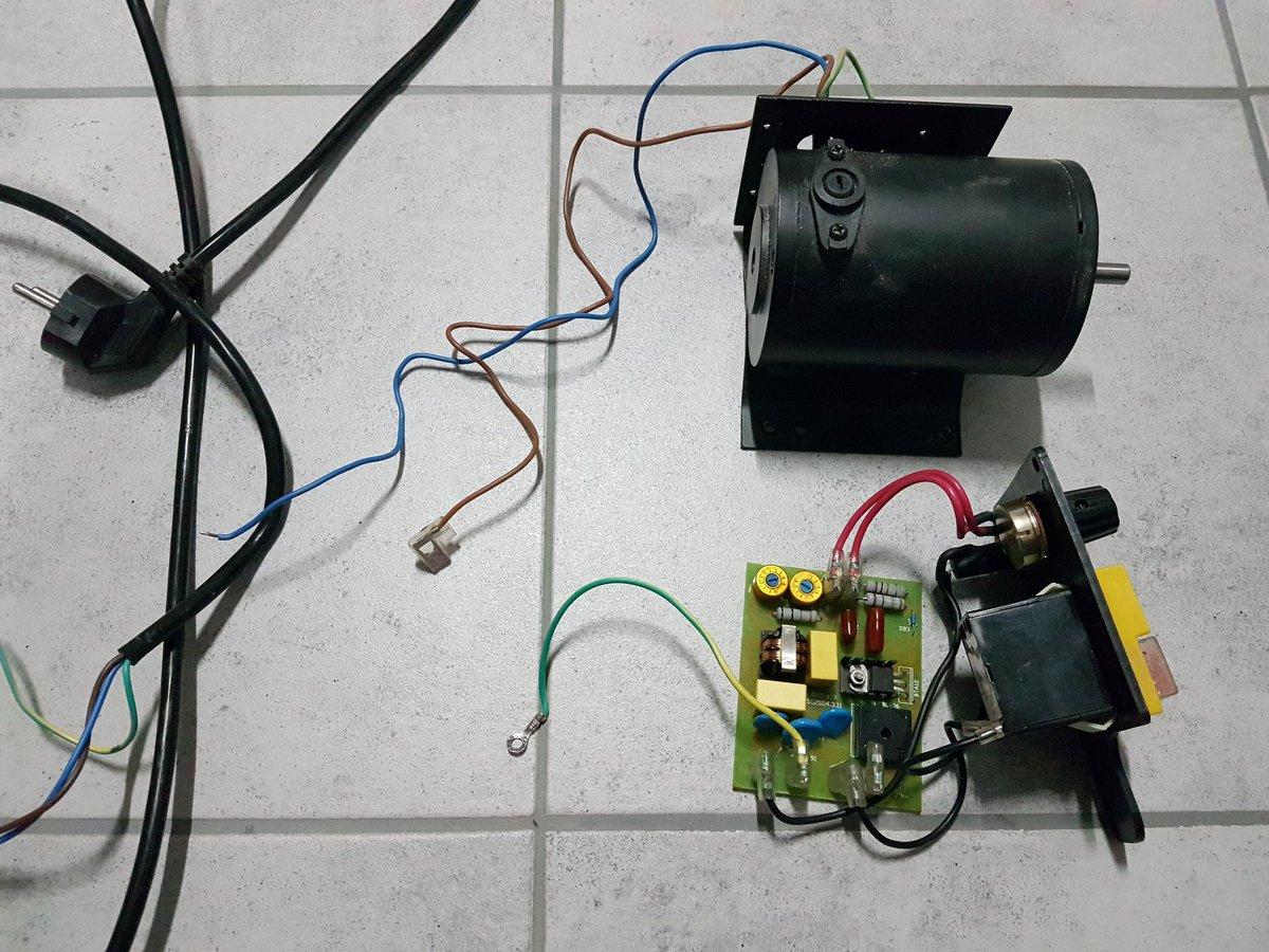 Papas Bastelblog On Twitter Der Motor Aus Meiner Defekten Diy Electrical Wiring Australia Dekupiersge Neue Antrieb Fr Meinen Trommelschleifer Mehr Dazu Demnchst Auf