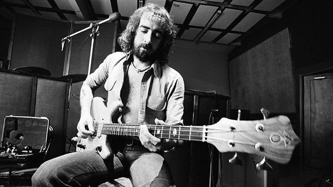 HAPPY BIRTHDAY JOHN McVIE! The legendary bassist turned 72 today!