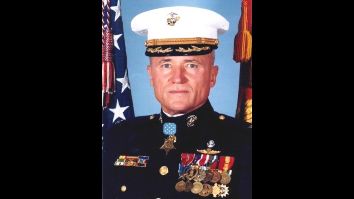 Yesterday, the Corps lost a legend.   Col. Wesley L. Fox, who earned the Medal of Honor for actions during the Vietnam War, passed away.   He served 43 years in the Corps and was a true Marine's Marine.   Semper Fidelis, Col. Fox.