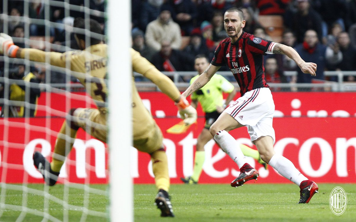 ac milan on twitter the story of the match against. Black Bedroom Furniture Sets. Home Design Ideas