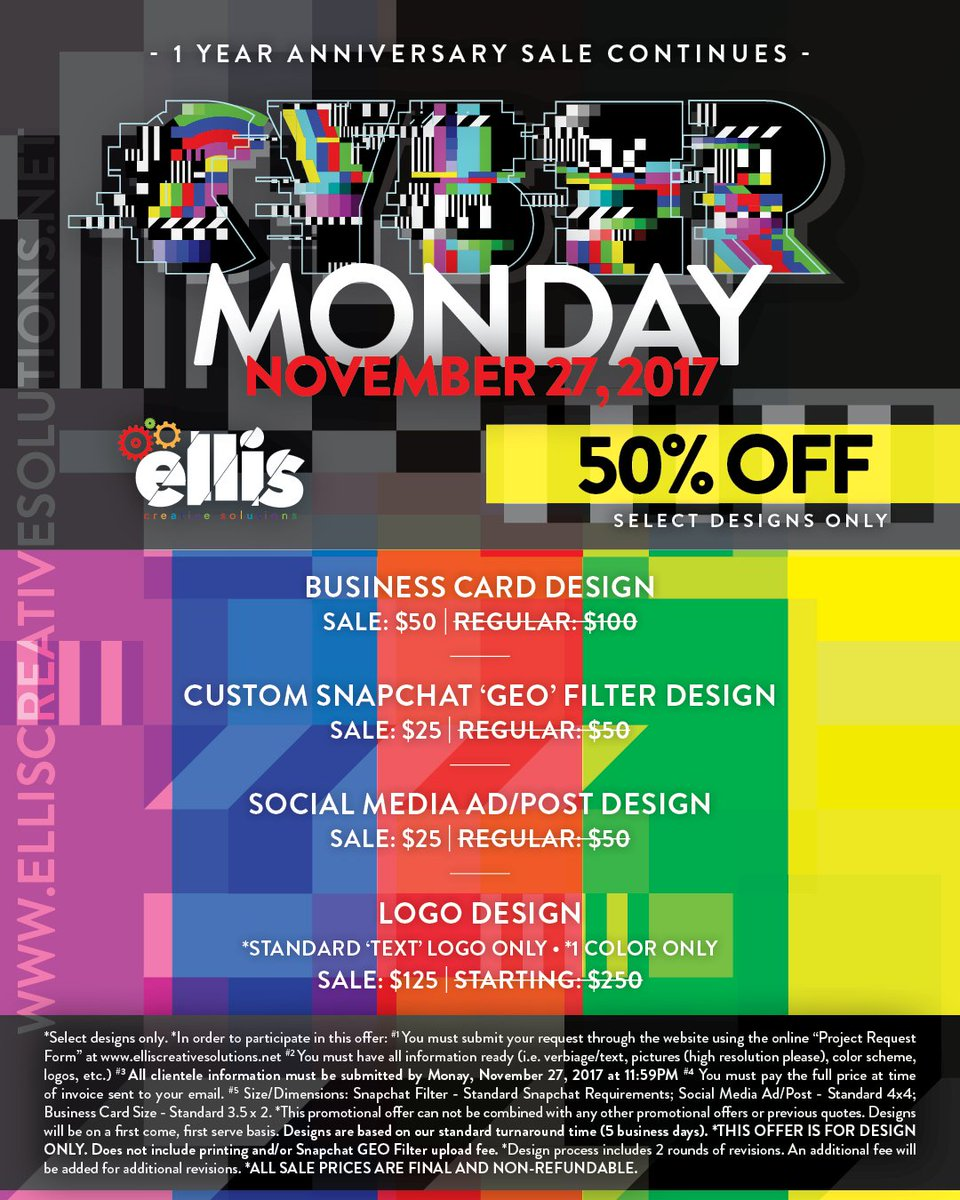 ellis creative sol on twitter 1 year anniversary sale continues