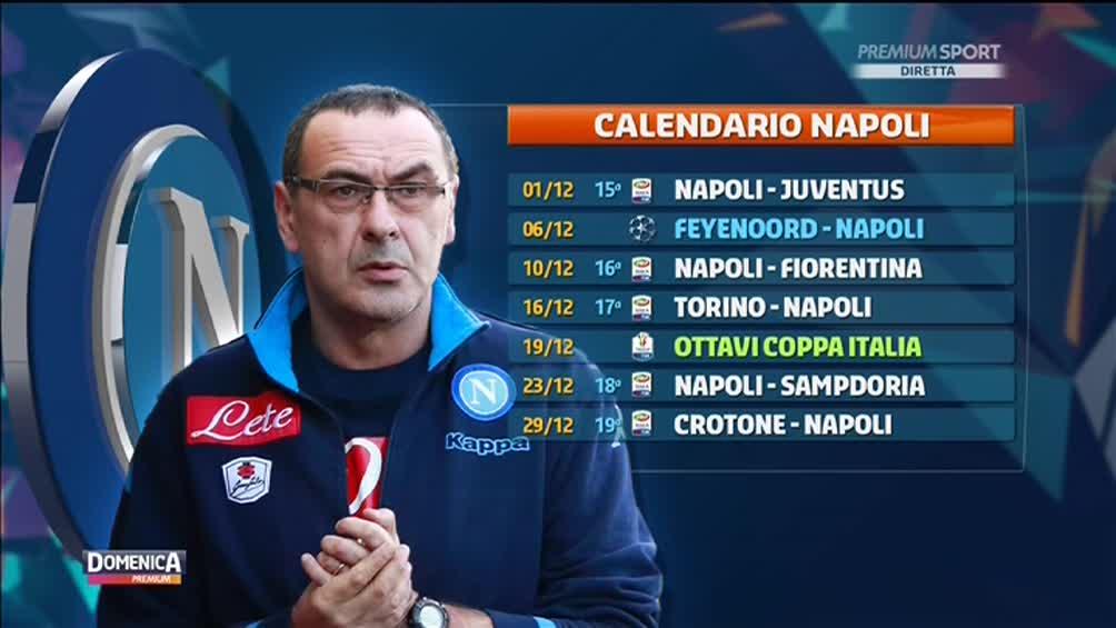Calendario Prossime Partite Napoli.Napoli Sfida Alla Juve Poi Il Calendario Sara Agevole E