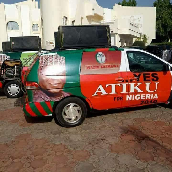 Former Vice President, Alhaji Atiku Abubakar has declared for the 2019 presidential election under the umbrella of the Peoples Democratic Party [PDP].