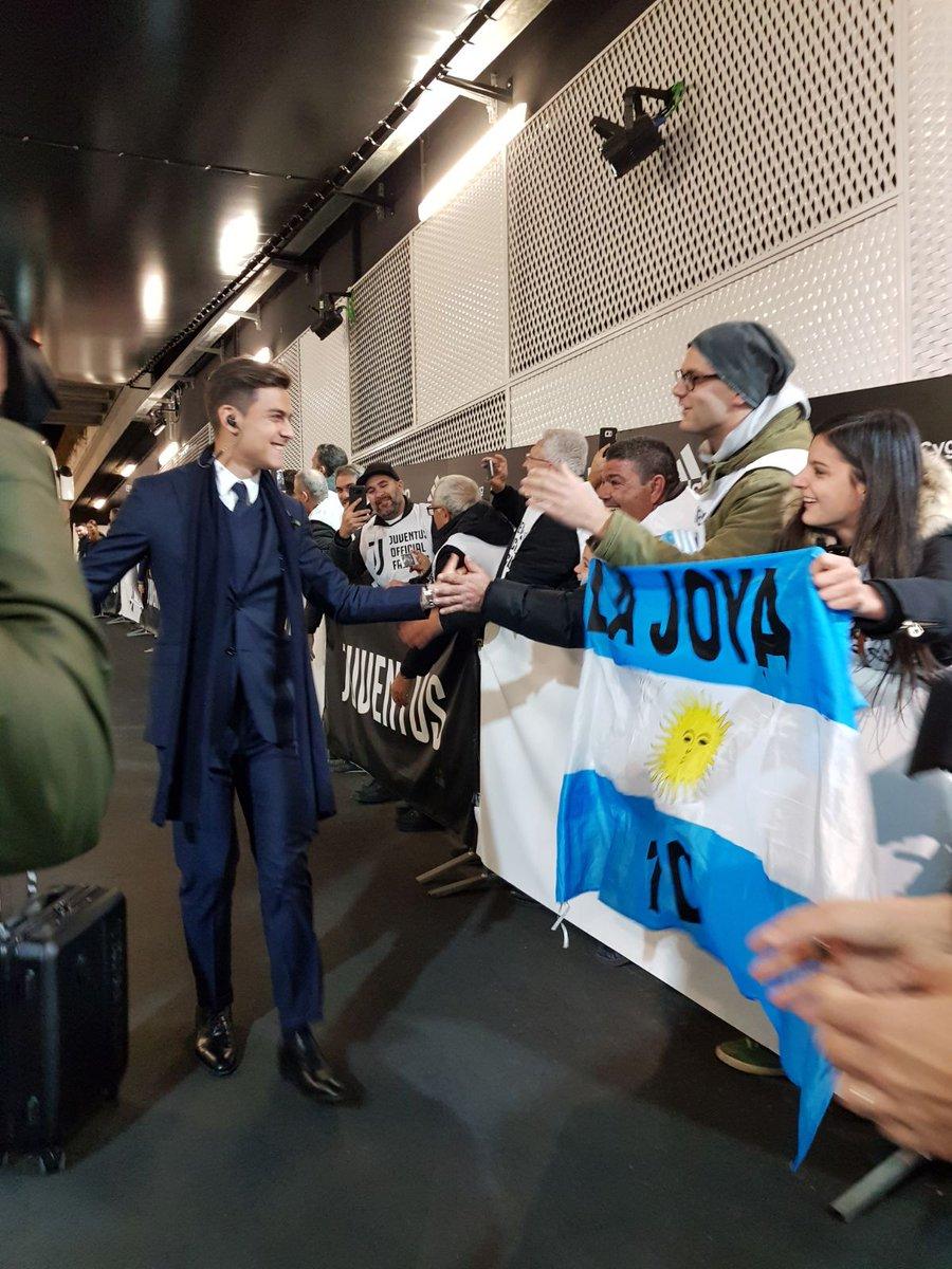 Paulo Dybala a.k.a La Joya, via Twitter @juventusfcen