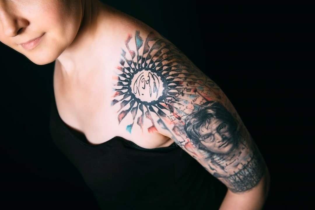 Imagine John Lennon Tattoo Belgium Hotels 5 Star