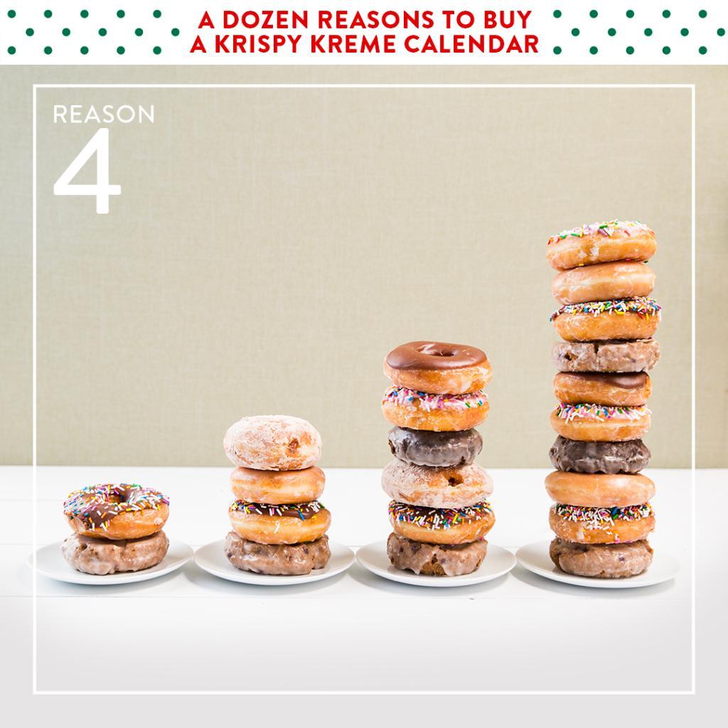 Krispy Kreme Calendar.Krispy Kreme On Twitter Reason 4 To Buy A Krispy Kreme Calendar