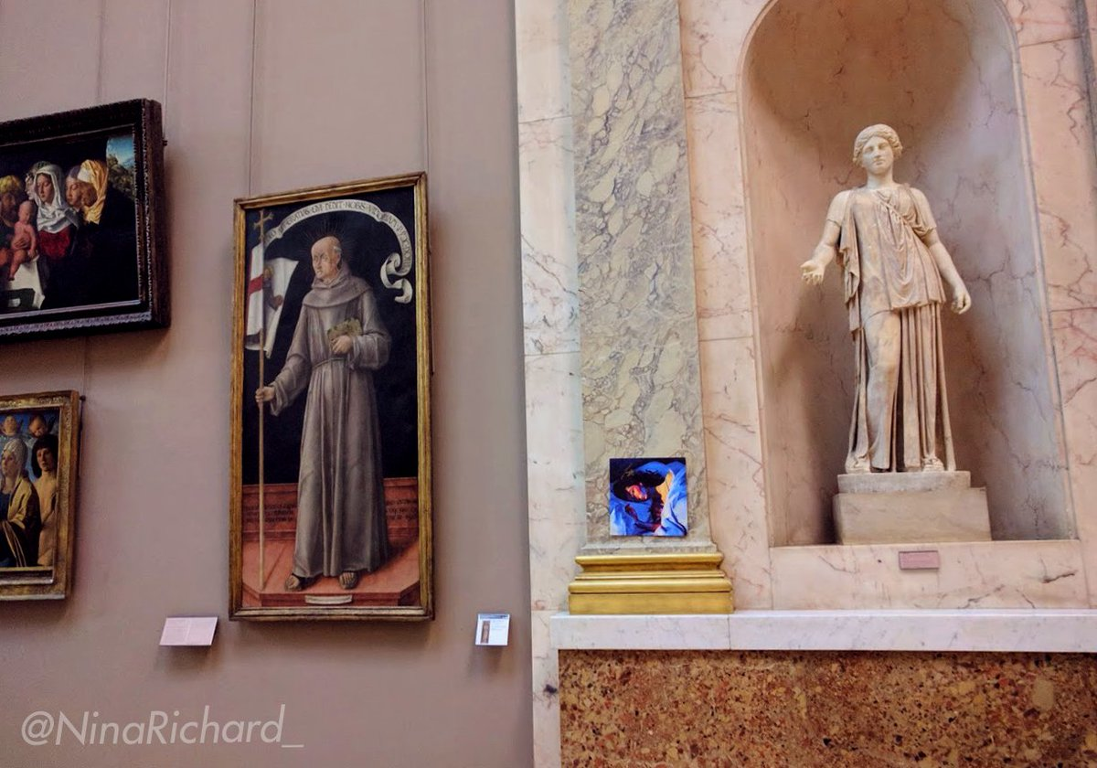 A Fan Hung Lorde S Album In The Louvre