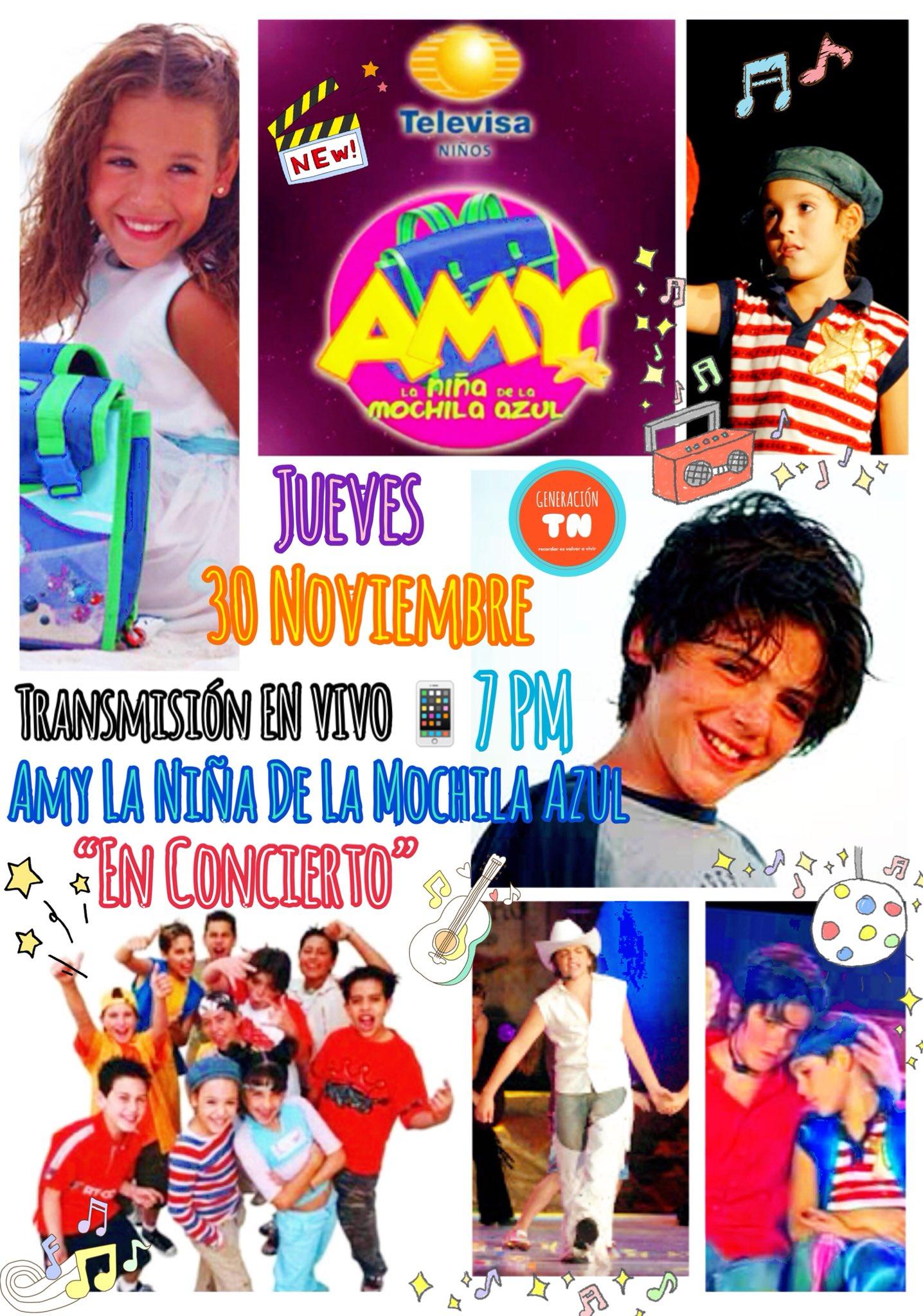 """Amy A Mochila Azul 🌸𝓑𝓮𝓽𝓸 𝓙𝓸𝓻𝓰𝓮🌸 on twitter: """"este jueves 30 de"""