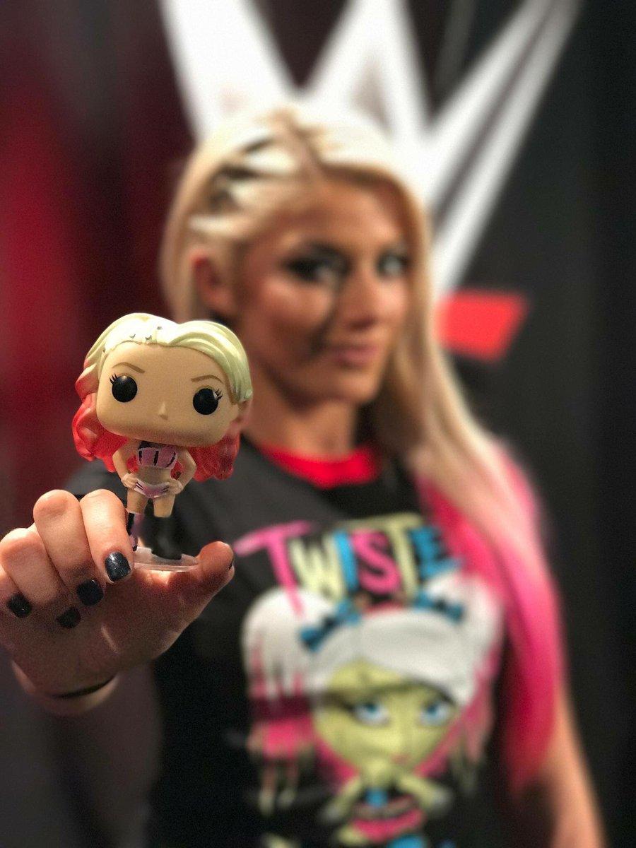Vinyl WWE Alexa Bliss Pop