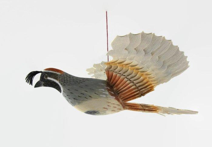 Bird Mobile Wood Carving Gambel&#39;s Quail Woodworking   http:// etsy.me/2yOk5PH  &nbsp;   via @Etsy #Retweettrain #addthis #like2 #Shoutouts #WoodCraft<br>http://pic.twitter.com/0NiAGkt1Mr