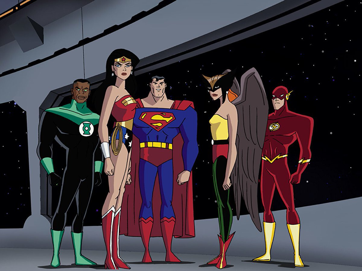 justice league cartoon - HD1536×849