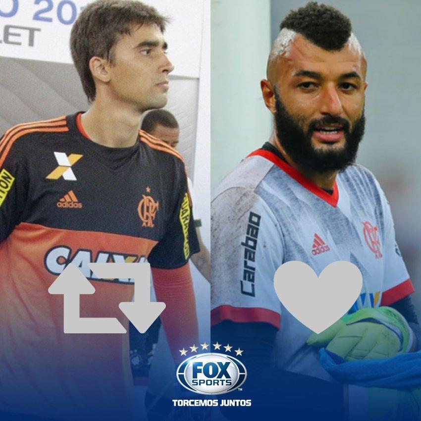 🔴⚫️ Quem deve ser titular no gol do @Flamengo contra o @JuniorClubSA? #SulAmericanaFOXSports  🔁 César  ❤️ Muralha