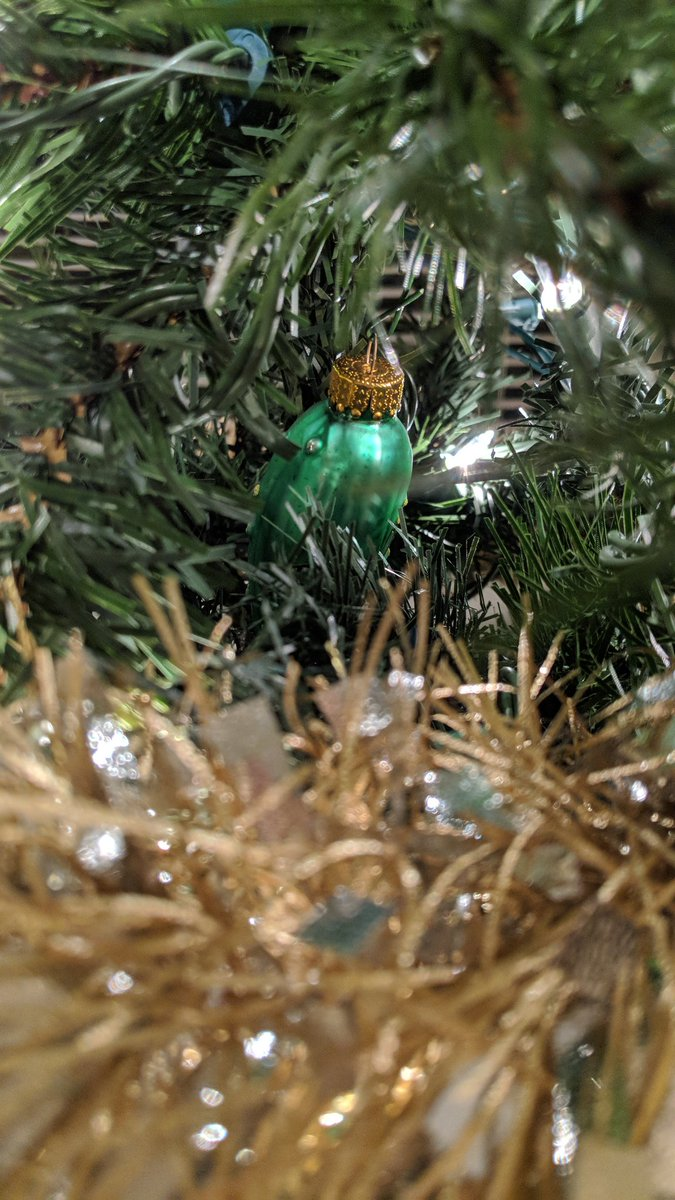 Christmas Tree Pickle Ornament.The History Behind Hanging A Pickle Ornament On Christmas Trees