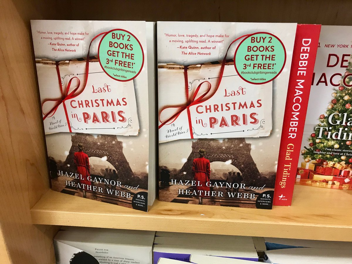Last Christmas In Paris Book.Kristina Mcmorris On Twitter Sighting Of Last Christmas In