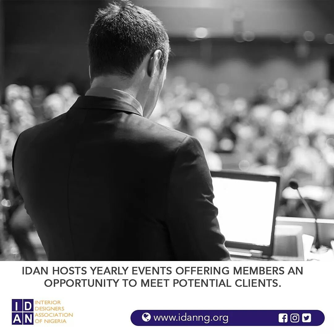 Interior Design Spaces In Nigeria Hosts Yearly Events That Offer Her Members Networking Opportunities To Meet Potential Clients