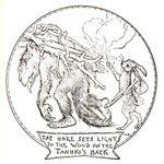 まさに化物w「かちかち山」のタヌキは海外では伝説の魔獣だった!