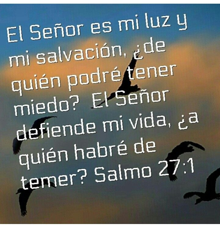 Salvación La Biblia Salmo 27 Wwwimagenesmycom