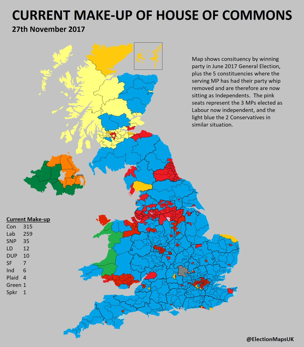 Map Of Uk Mps.Election Maps Uk On Twitter Here S An Updated Maps Of All The
