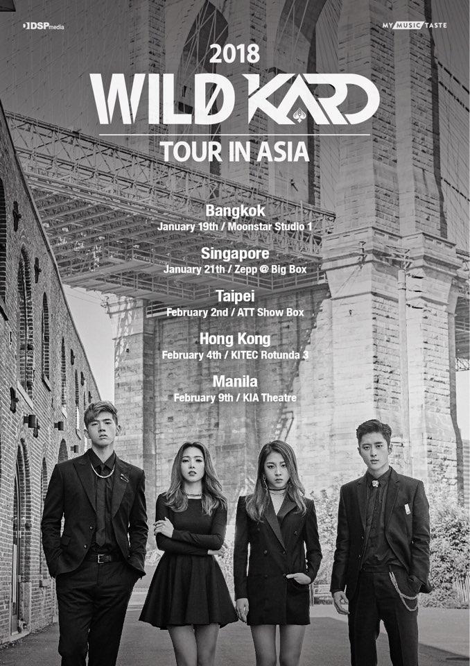 Kard On Twitter 2018 Wild Kard Tour In Asia With Mymusictaste