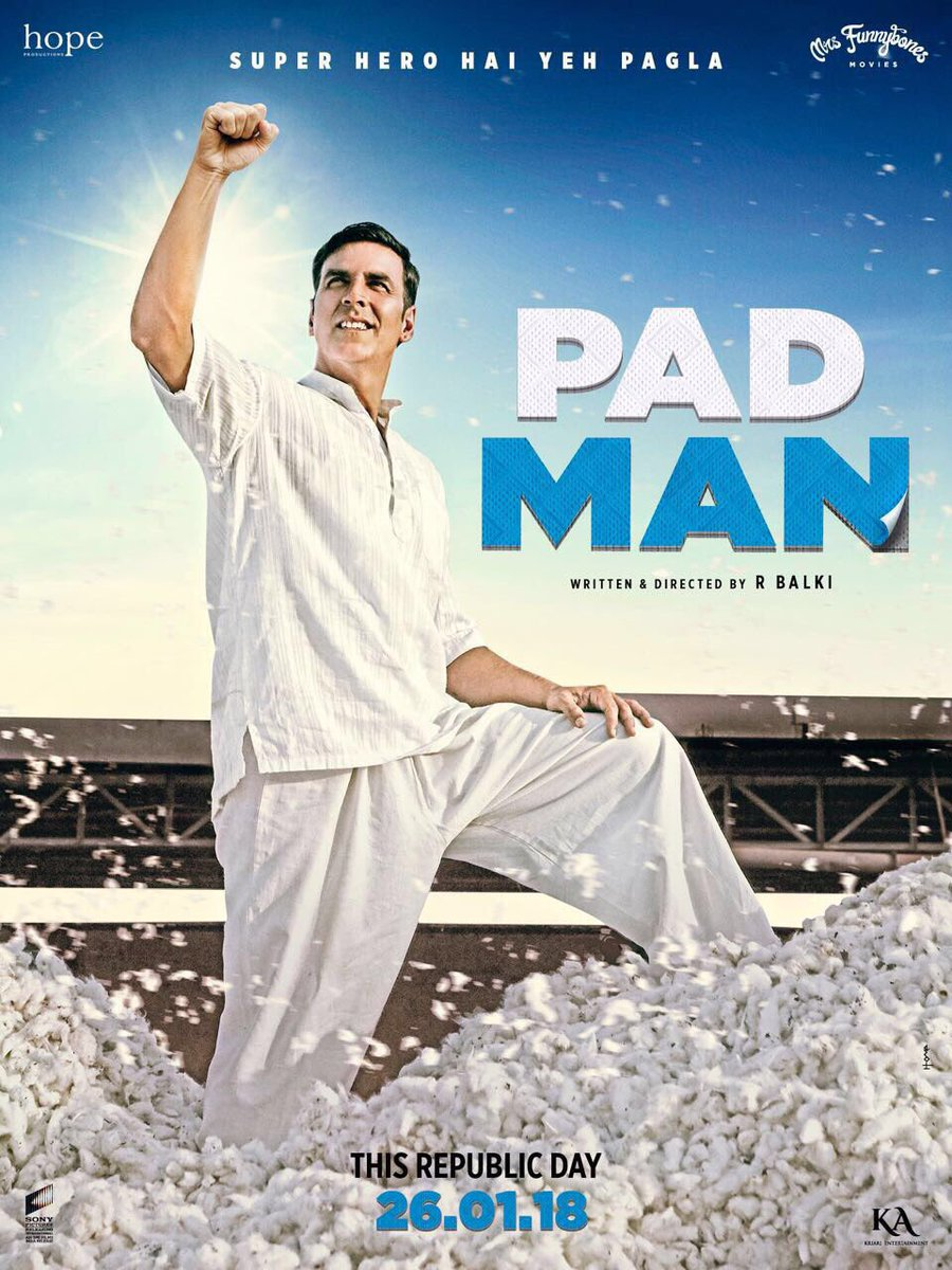 Padman 2018 Movie 950MB 720P
