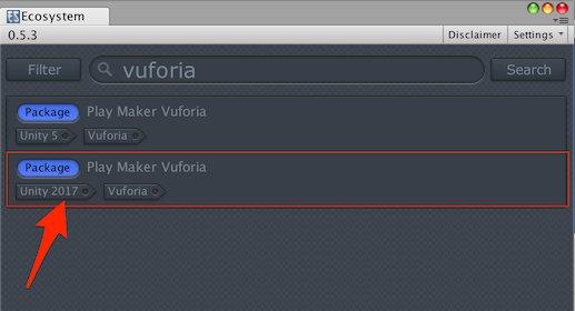 Unity 2017 Vuforia Support [November 2018]