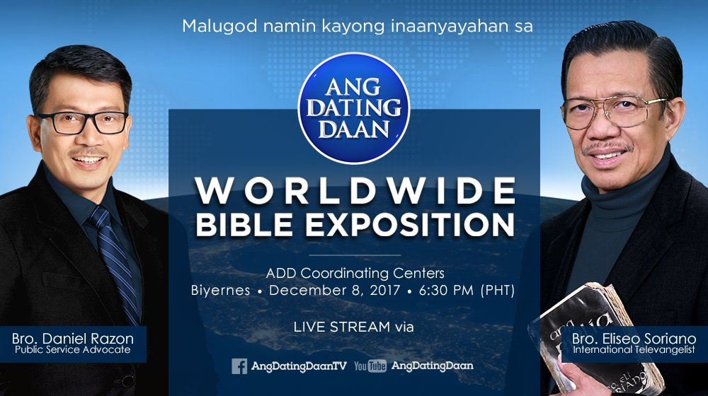 Ang dating daan live december 8 2018