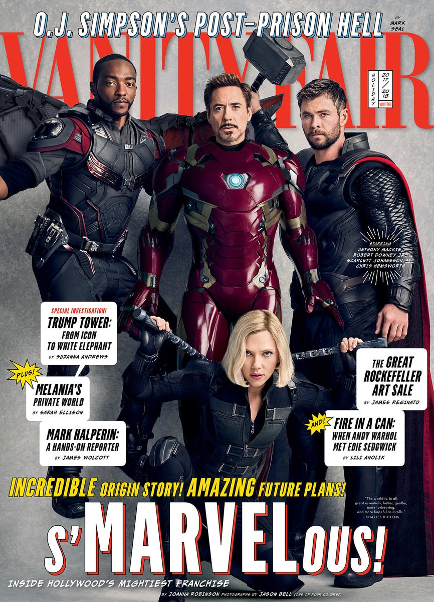 After a decade of unprecedented success, @MarvelStudios is at a pivotal moment: the looming farewell to some of its founding superheroes, and the rise of a new generation. https://t.co/JoKFAtWZA5