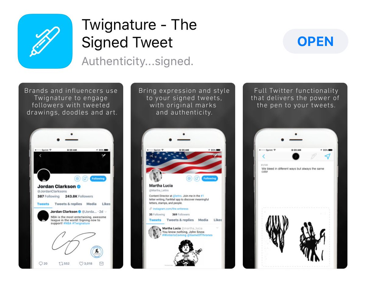 SignID - Smart Signature Keyboard on Twitter: