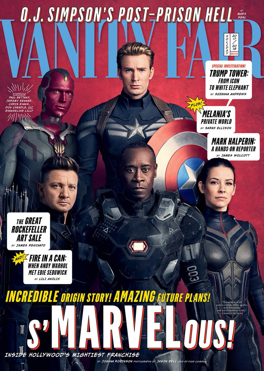 Get your first look at Avengers #InfinityWar with these exclusive  covers, and go behind the scenes here:  https://t.co/0VjOpfhwg3