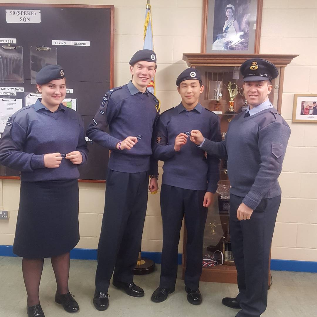 7F 90 RAF Air Cadets Liverpool On Twitter From Youth First Aid