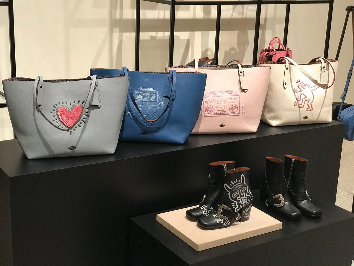 PHOTOS: Coach Spring 2018 collection launches in Singapore https://t.co/yETfrPXVFU #COACHSS18