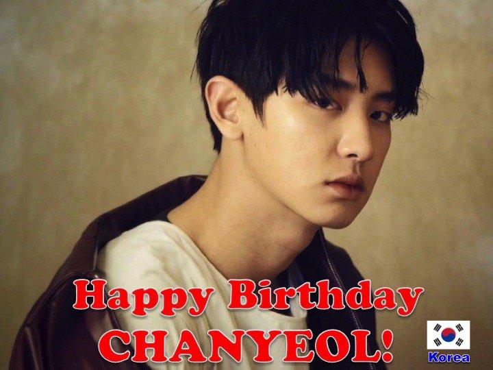 Happy 25th Birthday to #EXO's #CHANYEOL! #HappyChanyeolDay! @weareoneEXO  💖🇰🇷🎤🎶🎼🎂🎉🎁🎈🌟💫🎇