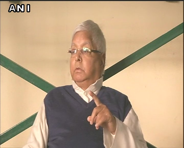 If a son comes to know that his father is being conspired against, his security is being revoked, he will react. I don't approve of this. I have spoken to him to not speak anything like that again.: Lalu Prasad Yadav on Tej Pratap Yadav's statement