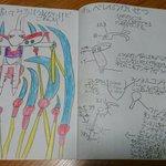 うちの娘(小2)が小学校の休憩時間に書いたというキュベレイが、キュベレイ愛に溢れかえっているので、ぜ…