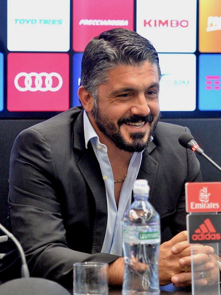 Genaro Gattuso é o novo treinador do Milan.