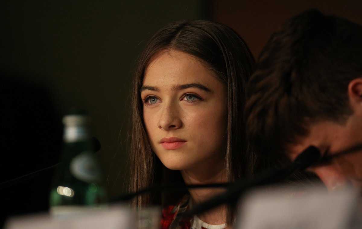 Raffey cassidy at the killing of a sacred deer screening cannes film festival new pics